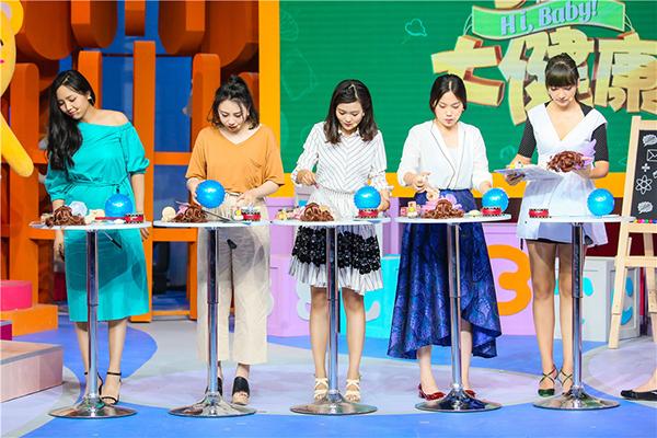 《小儿大健康》彭坦春晓分享女儿趣事 模仿女儿吃饭