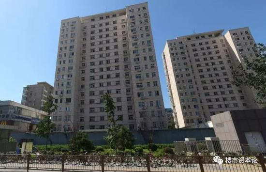 北京市海淀区复兴路12号院局部