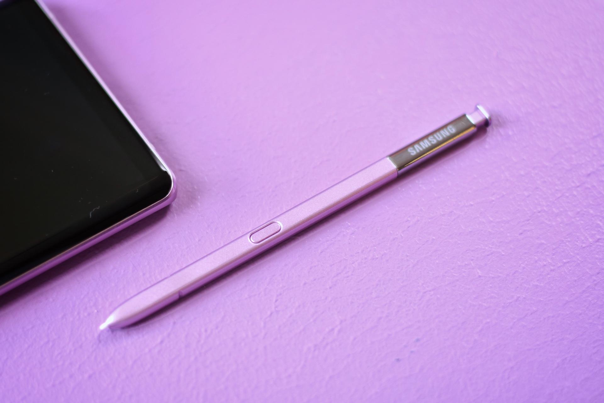 三星 Galaxy Note 9 上手体验:S Pen是点睛之笔的照片 - 8