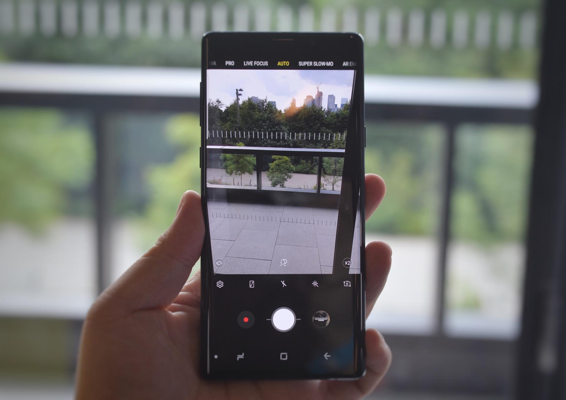 三星 Galaxy Note 9 上手体验:S Pen是点睛之笔的照片 - 7