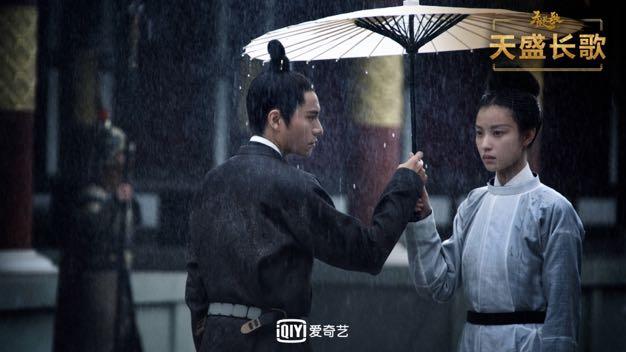 """陈坤倪妮对飚演技 《天盛长歌》获赞""""国产剧之光"""""""