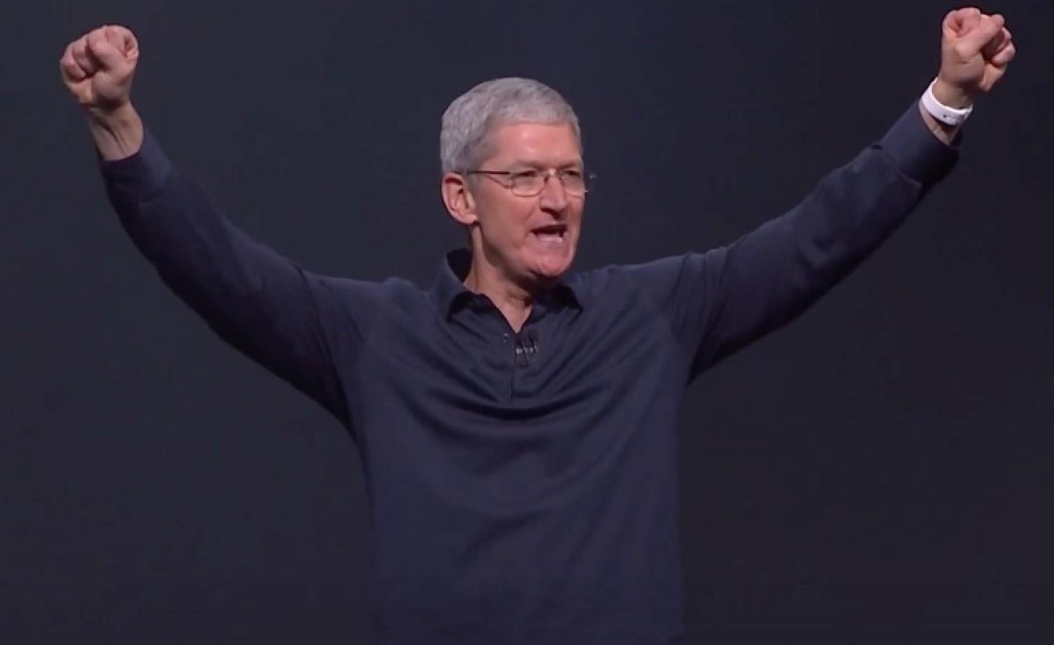 """库克执掌苹果7周年:葛越等15位""""帮手""""功不可没"""