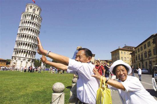 去年中国游客境外消费2580亿美元 占全球总支出1/5
