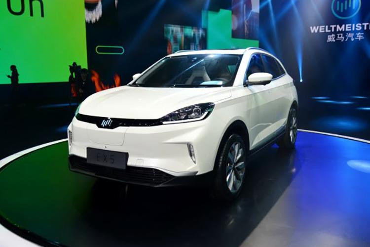 威马EX5增加车系发售 补助前售18.98万余元