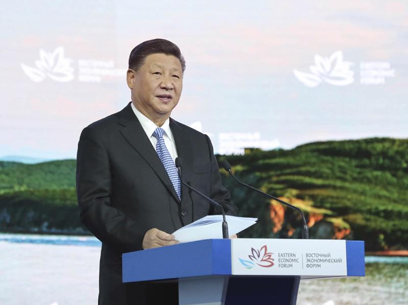 习近平出席东方经济论坛取得圆满成功