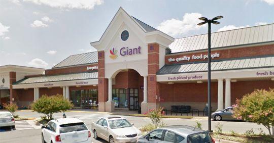 Virginia man arrested for allegedly rubbing produce on naked backside and putting it back on supermarket shelf Picture: Giant supermarket, Manassas Credit: Google