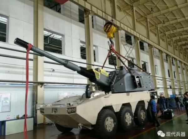 中国最强155轮式自行火炮超出传统 世界领先截图
