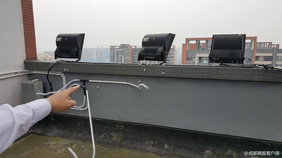 △信号放大设备的导线被人为破坏