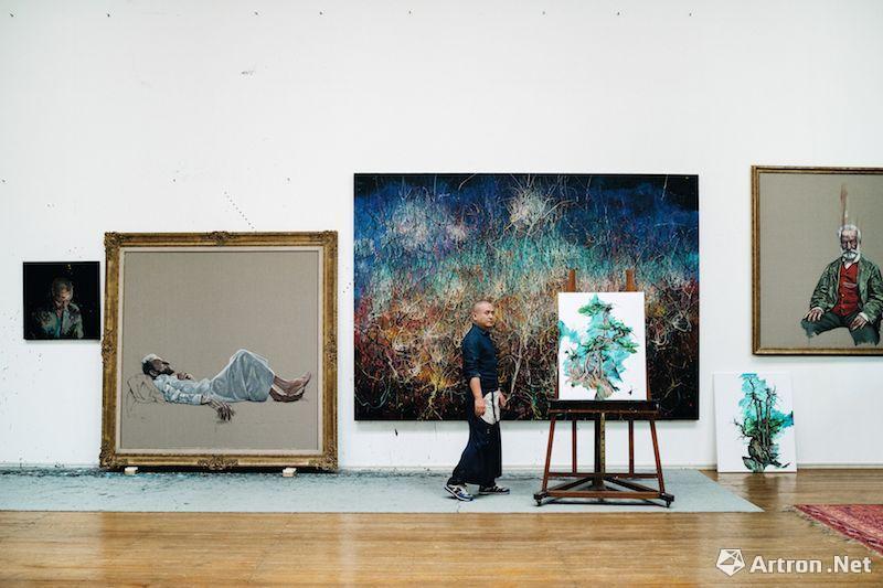 2018曾梵志三地联展:In the Studio