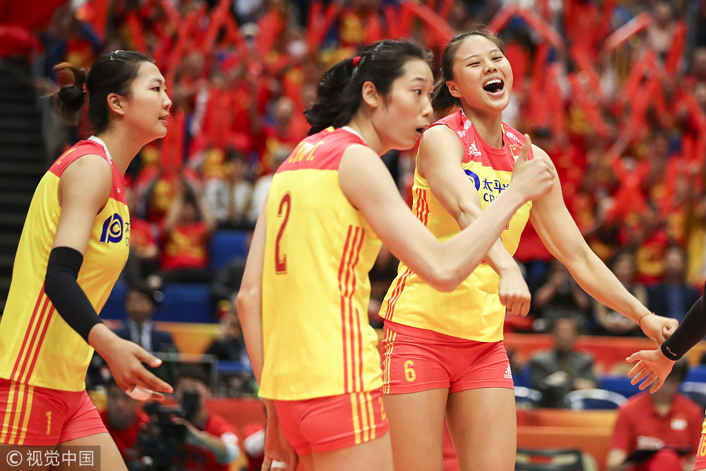 遗憾!中国女排2-3惜败意大利 无缘世锦赛决赛将争第三