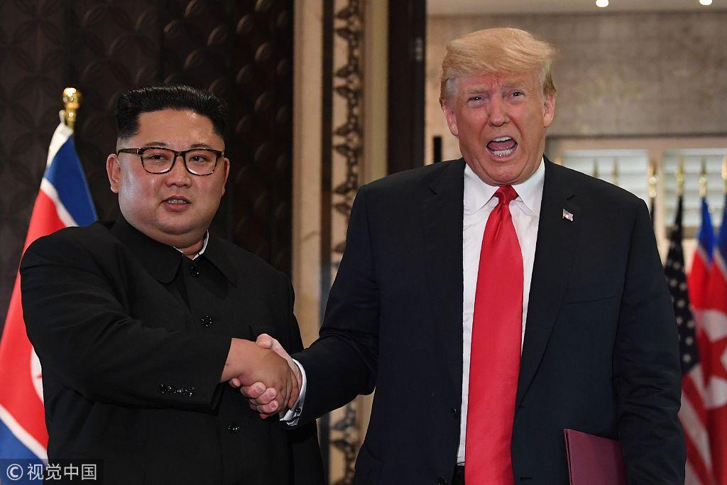 """美宣布暂停韩美""""警戒王牌""""军演 称为推进朝美和谈"""