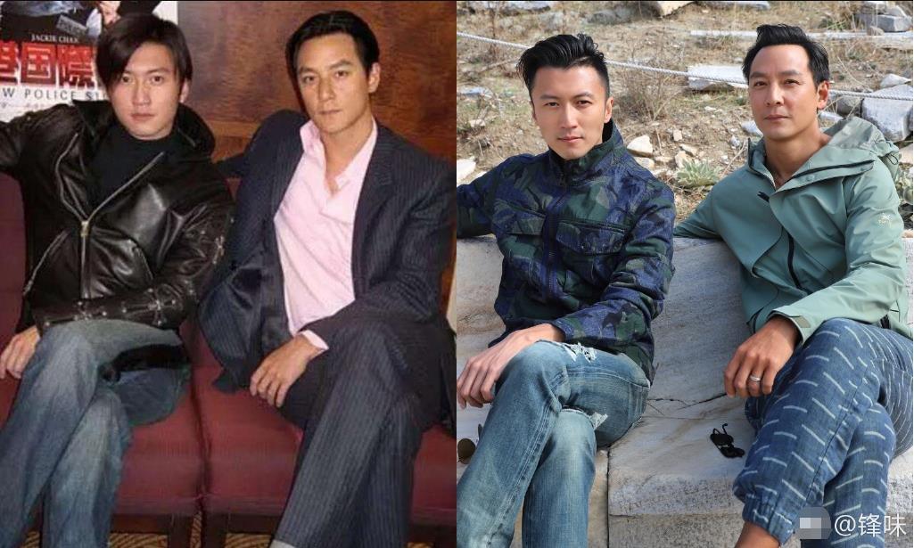谢霆锋晒与吴彦祖20年前后对比照 网友:一点没变