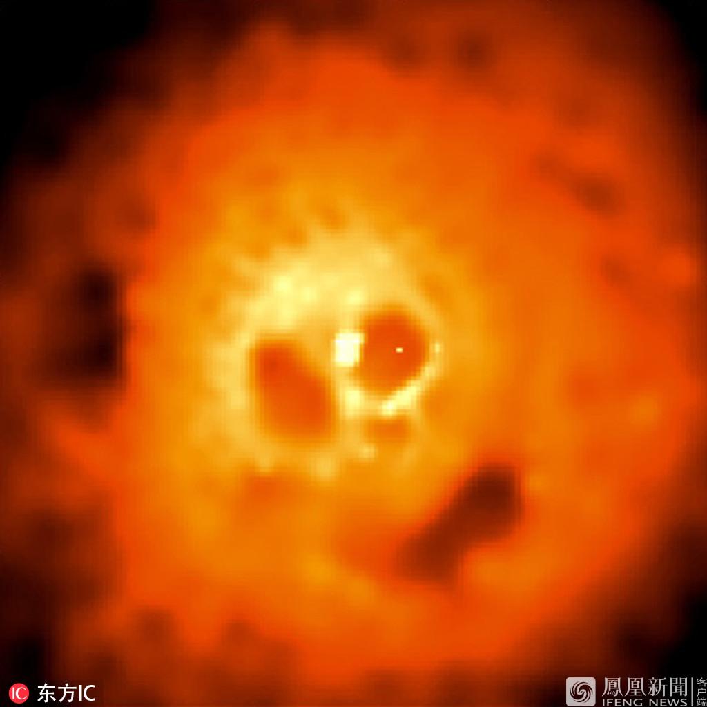 """NASA发布宇宙深处的""""魔鬼""""星体照片(图)"""