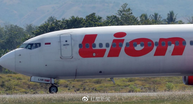 狮航航班图据天空新闻网