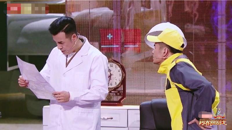 海一天《跨界喜剧王》总决赛 搭档文松难辨真假医生