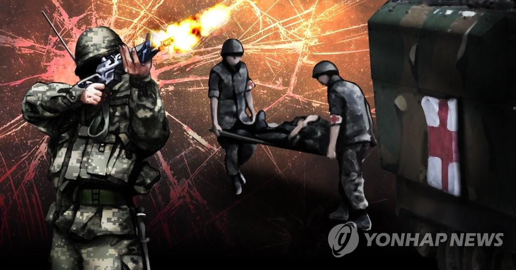 韩国前线哨所一士兵头部中枪死亡