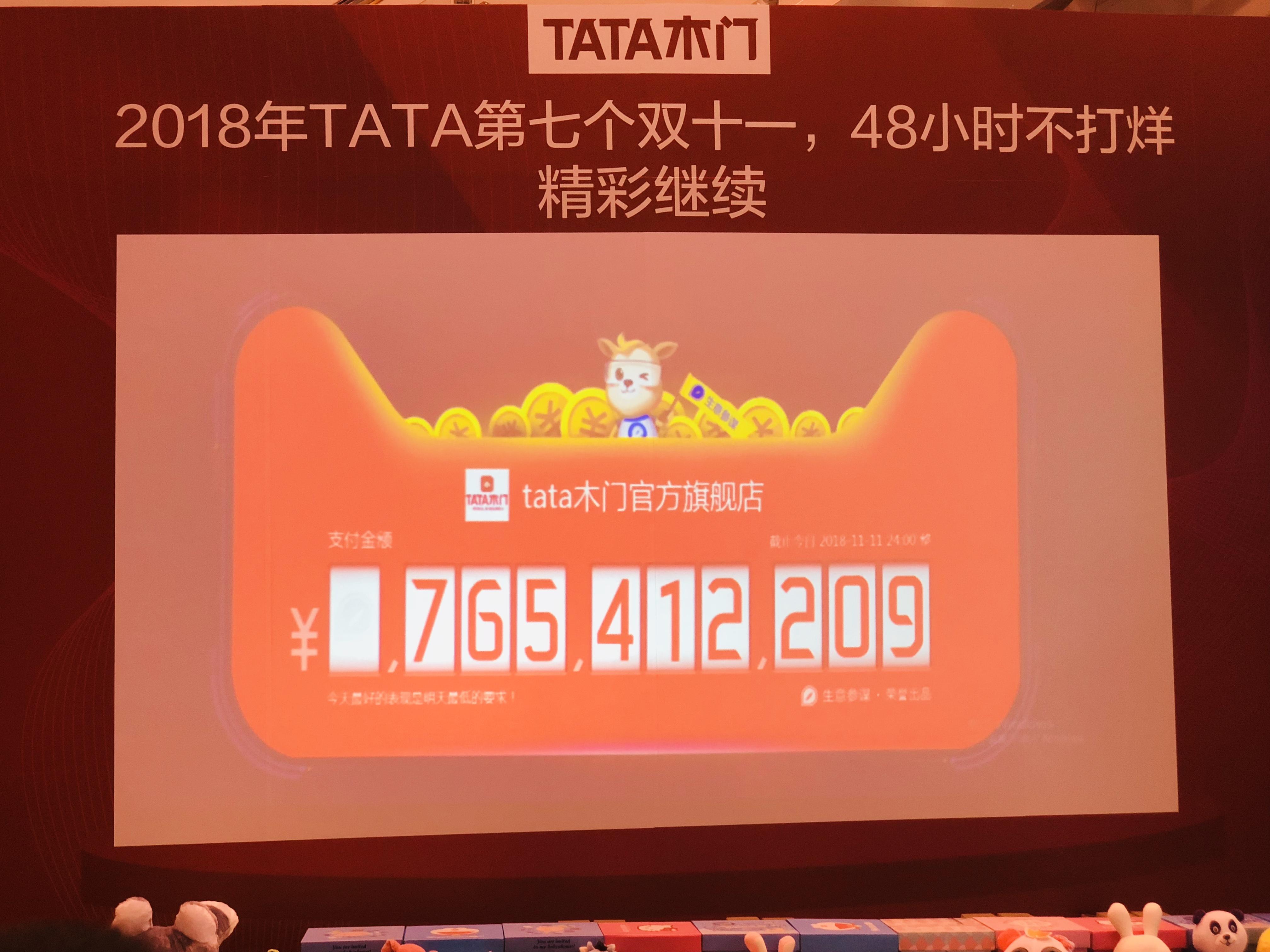 源于探索和坚守,TATA木门双11战绩7.65亿元再创记录