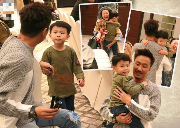 郑中基搞哭儿子抱起安慰 演唱会女儿献唱整首歌曲