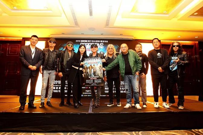 蝎子乐队来华开唱 分享保持激情秘诀,世界网球排名,世界网络,世界著名建筑图片,极限挑战什么时候更新,极限挑战什么时候播,极限挑战几点播出
