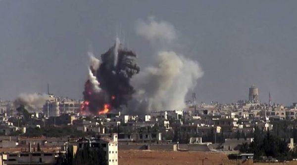 叙媒:反政府武装用化武攻击阿勒颇 百余平民受伤