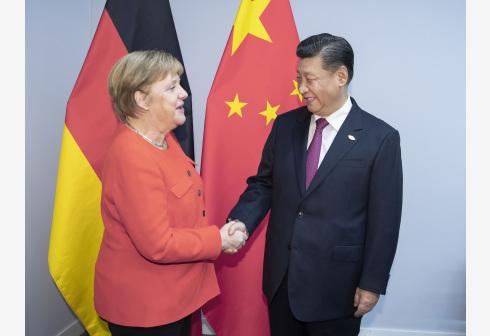 bob官网:习近平会见德国总理默克尔