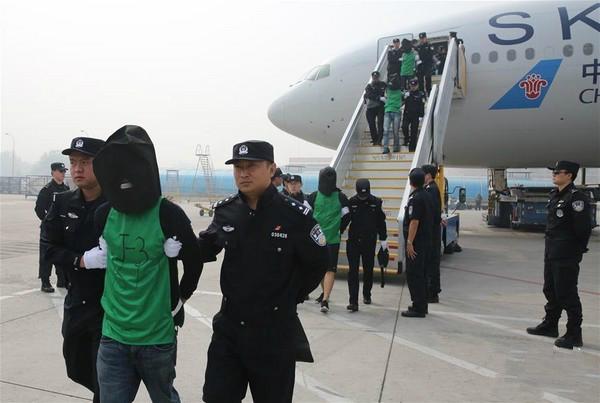 平度市教育局:柬埔寨遣返46台籍诈骗犯到大陆 台