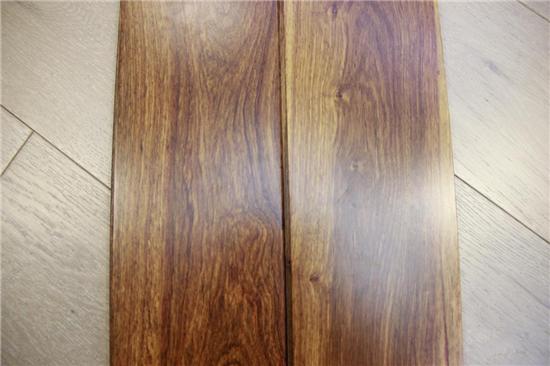红木血统 质感上层 安信非洲花梨木地板评测