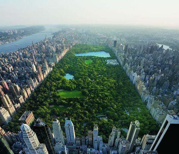 以纽约中央公园为灵感打造的高级珠宝系列Central Park Mosaic 纽约著名的中央公园距离海瑞?温斯顿先生的办公室仅数个街区。海瑞?温斯顿先生及品牌设计师希望从自然之美汲取灵感,中央公园时常为他们提供全新视野。Central Park Mosaic耳环、手镯及戒指均饰以祖母绿、蓝宝石、钻石及海蓝宝石,以重现此纽约标志性公园的独特景致。明艳的彩色宝石散落其中,正如公园里四季更迭色彩的百年树木。