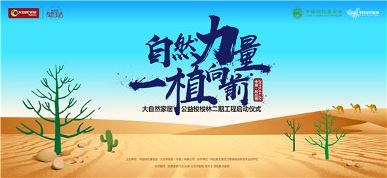 大自然家居全球招募沙漠植树体验官
