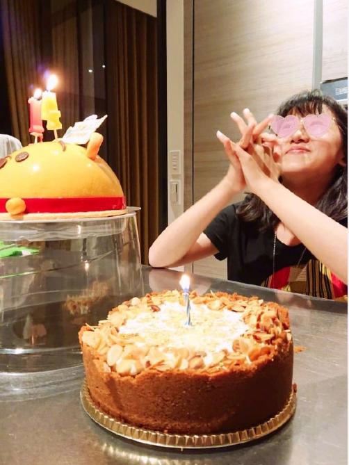 贾静雯祝梧桐妹生日快乐:送你最好的礼物就是爱的陪伴