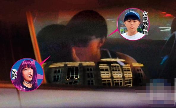 张惠妹外甥女与女舞者车上热吻 本人回应:经常如此