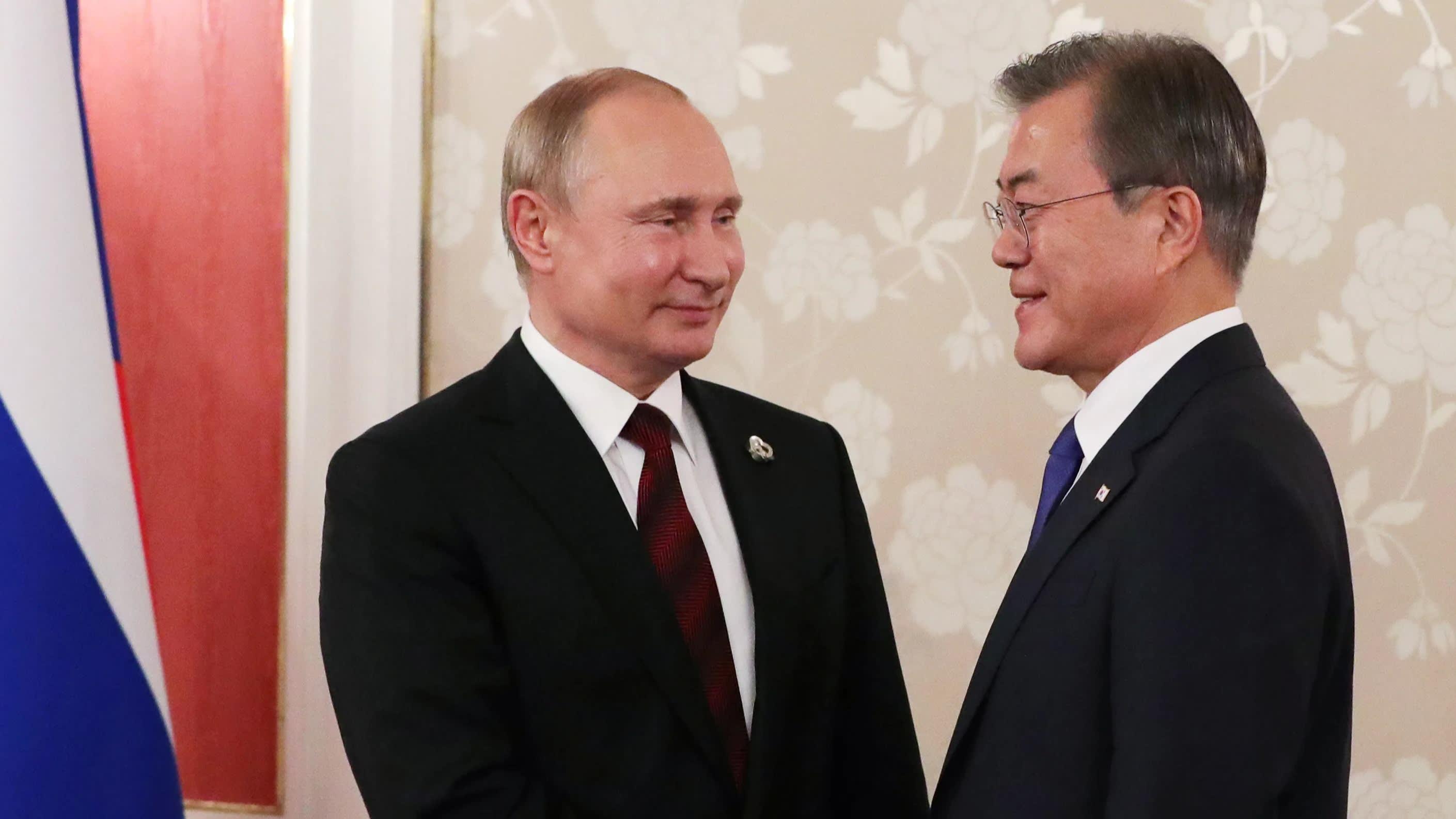 """俄罗斯""""插手""""日韩经贸冲突 愿向韩国厂商供应氟化氢"""