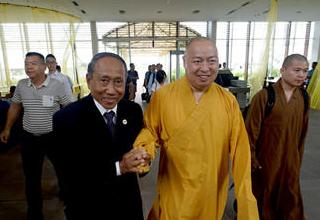 艾森沃的中国佛教情结
