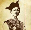 西洋画中清代女海盗