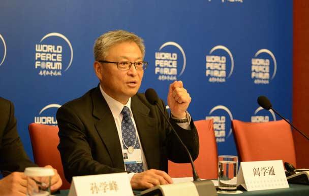 专访阎学通(中) 台湾致中美矛盾越来越严重
