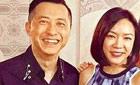 55岁庾澄庆与二婚妻子同框啦!画风好甜蜜(图)