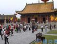 太昊伏羲陵文化生态旅游区迎来大批游客