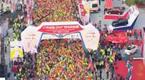 2016广州马拉松 3万跑友聚羊城