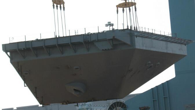 中国首艘国产航母结构有缺陷 歼15难以全力出击
