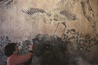 描绘南京风景的画作.