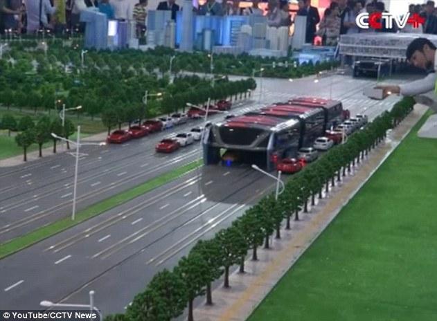 """中国""""立体巴士""""惊艳世界 可载千人不占车道(图) - 和蔼一郎 - 和蔼一郎"""