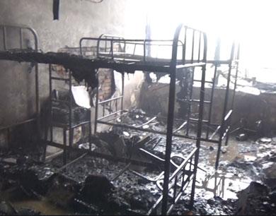 江西传媒影视学院学生寝室发生火灾
