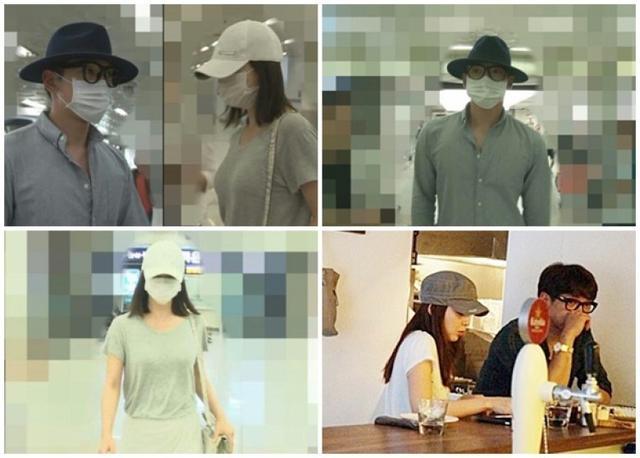 Rain与金泰熙结束旅行返回韩国 机场分头行动(图)【星看点】