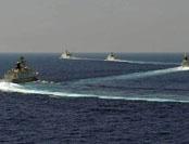 南海舰队远海训练编队返抵三亚母港