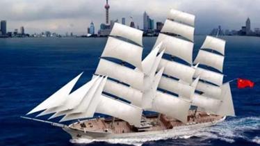 广船南沙厂区开工建造一艘奇特军舰 国内首见