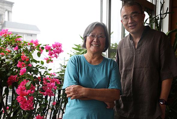知名绘本家蔡皋,是薛忆沩在长沙的忘年之交。图/袁方略