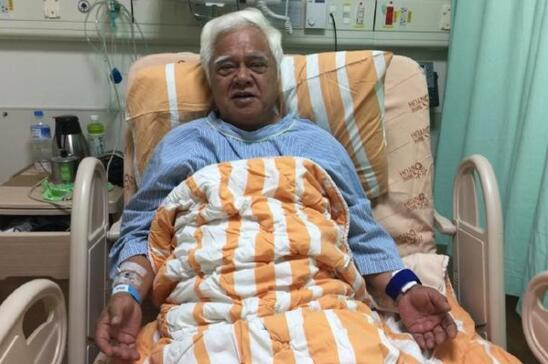 65岁台湾民歌之父胡德夫做手术 微博报平安【星看点】