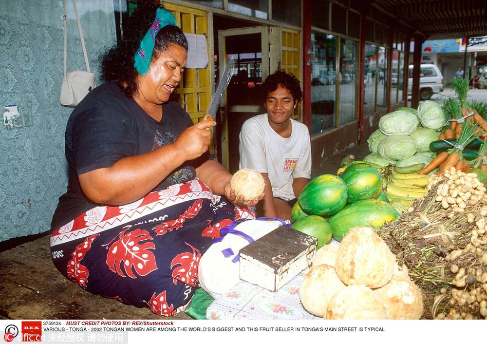 """""""以胖为美""""汤加王国免签了图片"""