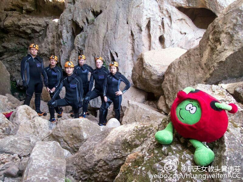 中国第二批男航天员首次亮相 - 雷石梦 - 雷石梦