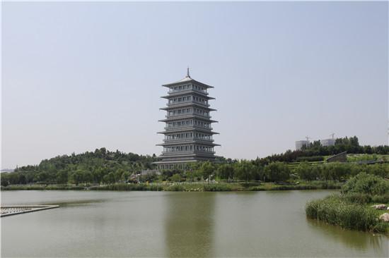 """西安世博园,了解西安浐灞生态区如何发挥""""风景生产力"""",实现""""生态导向"""